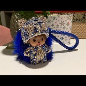 Bling keychain cute best birthday gift